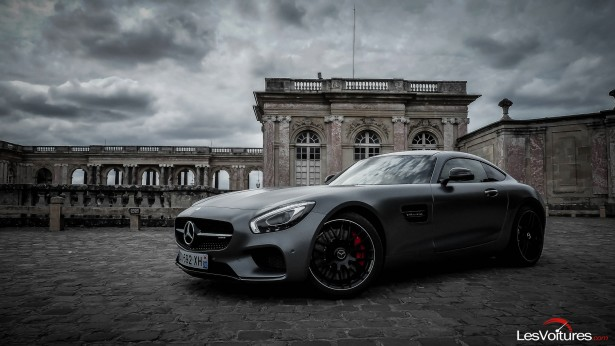 Mercedes-AMG GT S : ténébreuse Supercar, shooting photo…