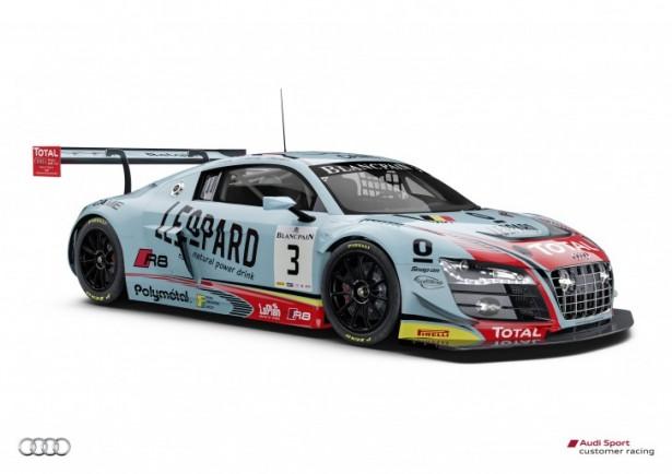 24 Heures de Spa : Audi dévoile ses couleurs !
