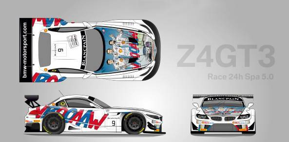 bmw-Z4-Michel-Vaillant-24-Hours-of-Spa-2015