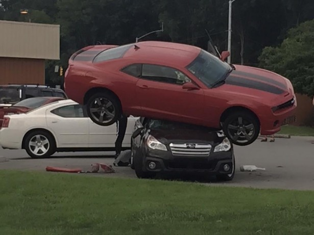 Chevrolet Camaro : un accident insolite non élucidé
