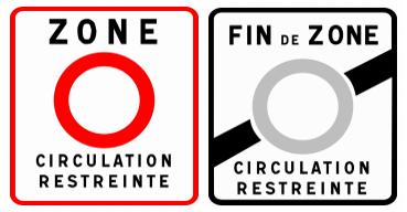 Paris : la circulation restreinte anti-pollution mise en place !