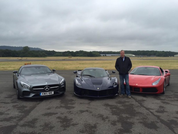 Top Gear Uk : Clarkson a dit adieu au circuit de l'émission