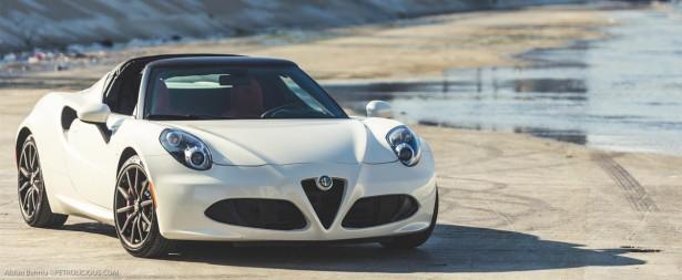 Vidéo : l'Alfa Romeo 4C Spider sublimée par Petrolicious…