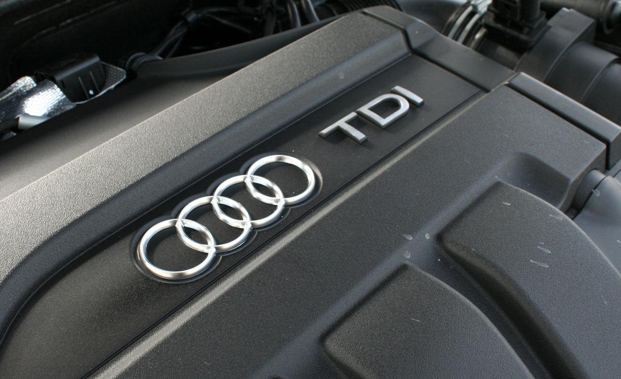 2010 Audi A3 TDI S-line turbocharged 2.0-liter inline-4 diesel engine