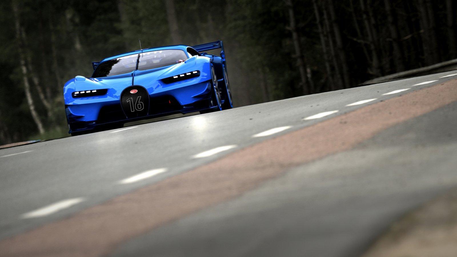 Bugatti Vision Gran Turismo 2015 14 Les Voitures
