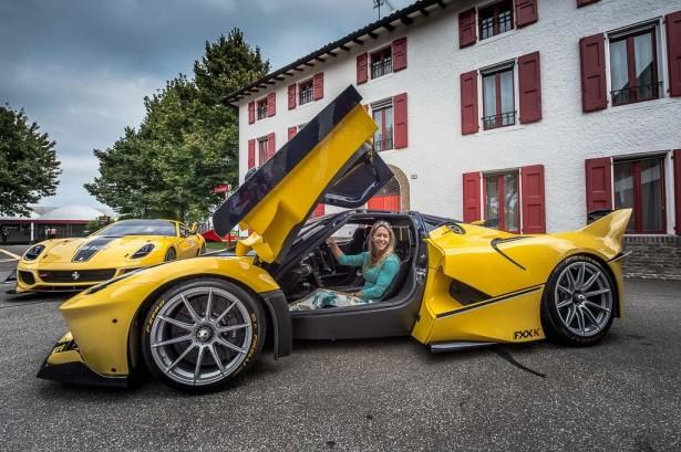 Ferrari FXX K : le cadeau d'anniversaire de Mme Sloss