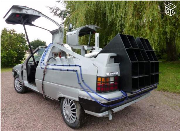 """Retour vers le futur : 300 € la BX DeLorean """"prête"""" à voyager dans le ..."""