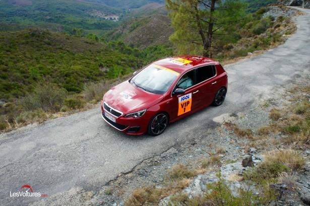 Peugeot 308 GTi by Peugeot Sport : dans les pièges du Tour de Corse WRC !