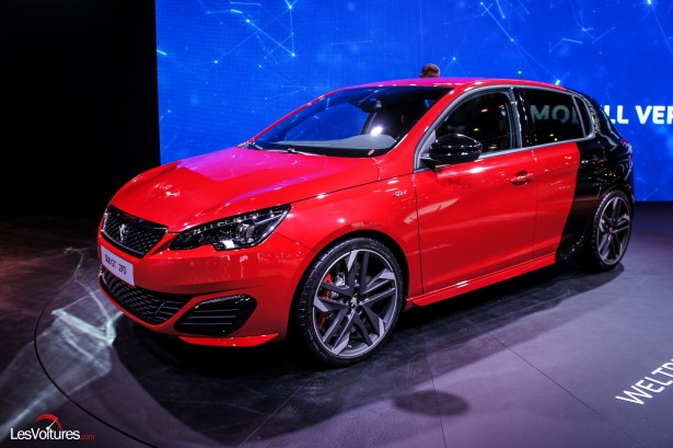 peugeot 308 gti by peugeot sport la lionne de 270 ch en photos francfort les voitures. Black Bedroom Furniture Sets. Home Design Ideas