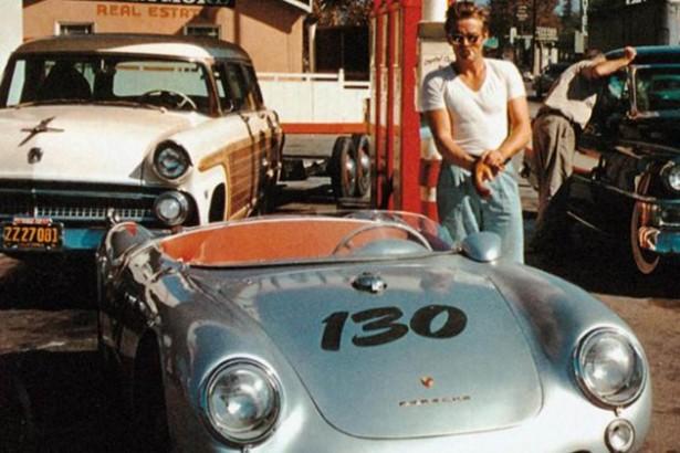 James Dean : 60 ans déjà, la Porsche 550 Spyder retrouvée ?