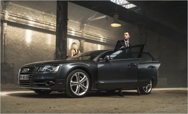 Le Transporteur Héritage : l'Audi S8 crèvera nos écrans le 9 septembre !