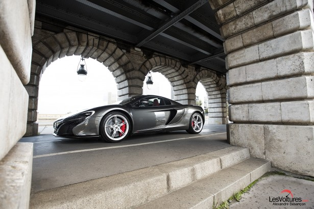 McLaren 650S Spider : une puissante princesse à Paris, essai…