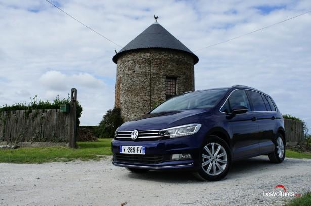 Volkswagen Touran : le monospace s'offre une cure de jouvence, essai…