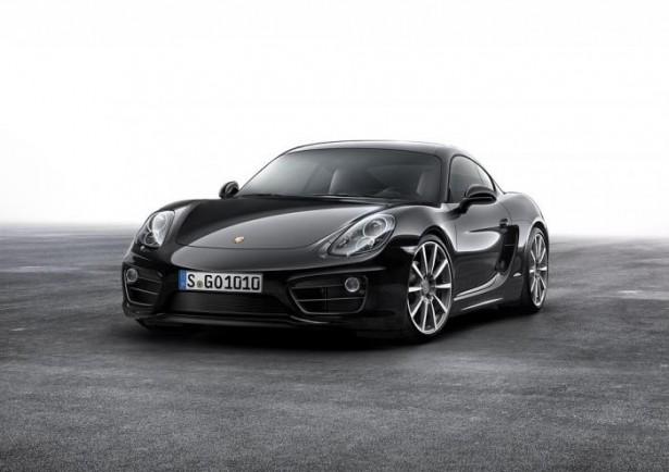 Porsche Cayman Black Edition : le noir lui va si bien…