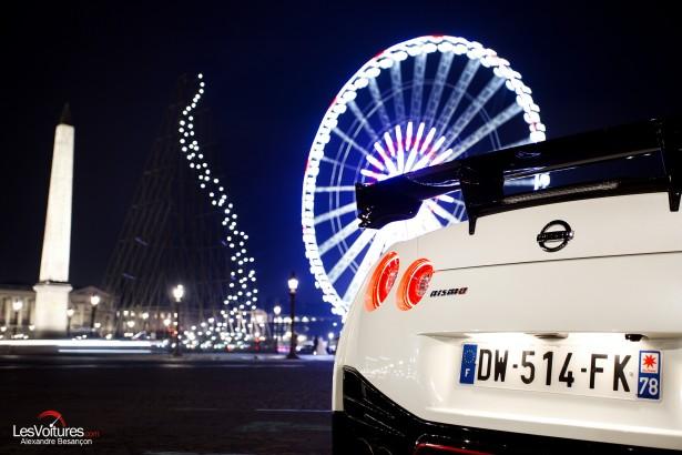Nissan-GT-R-NISMO-photos-Paris-LesVoitures-Christmas-Noel-5