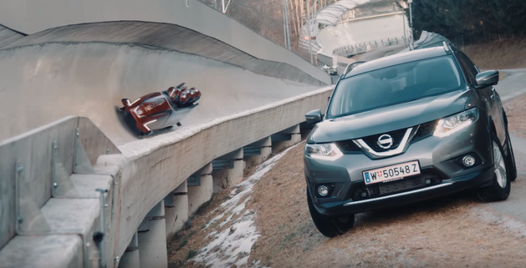 nissan-x-trail-bobsleigh-video
