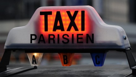 Lumignon rouge, taxi occupetransport auto