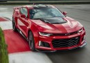 The ZL1 features a supercharged LT4 6.2L V-8 Small Block engine, with intake and exhaust systems tailored for Camaro. It is rated at an estimated 640 horsepower (477 kW) and 640 lb-ft of torque (868 Nm), backed by a standard six-speed manual transmission or all-new, available paddle-shift 10-speed automatic. The 10-speed automatic has 7.39 overall ratio for smaller steps between gears. It enables the LT4 engine to remain at optimal rpm levels during acceleration, particularly when exiting corners, for quicker laps and lightning-quick responses on both up- and down-shifts.