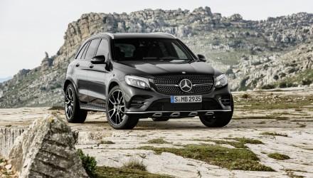Mercedes-AMG GLC 43 (X 253), 2016 Exterieur: Obsidianschwarz; Interieur: Leder Schwarz, Performance Sitze Kraftstoffverbrauch kombiniert (l/100 km):  8,3 CO2-Emissionen kombiniert (g/km): 189 exterior: obsidian black; interior: leather black, performace seats Fuel consumption, combined (l/100 km):   8.3 CO2 emissions, combined (g/km):  189