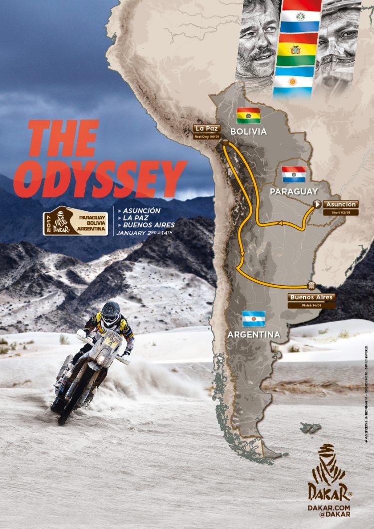Dakar-2017-carte-parcours