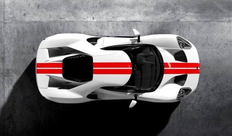 Frozen-White-Ford-GT-Race-Red-Stripe