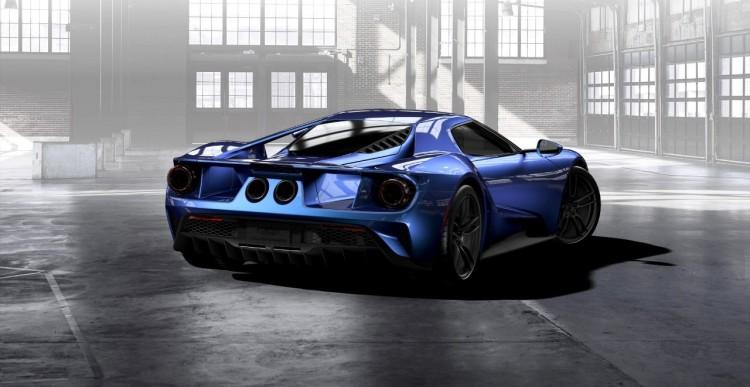 Liquid-Blue-Ford-GT-rear-three-quarter