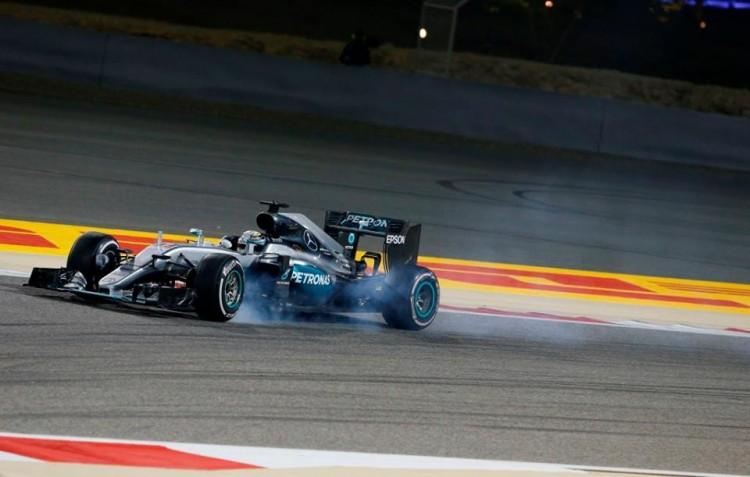 Mercedes-amg-petronas-F1- Bahreïn-2016-hamilton