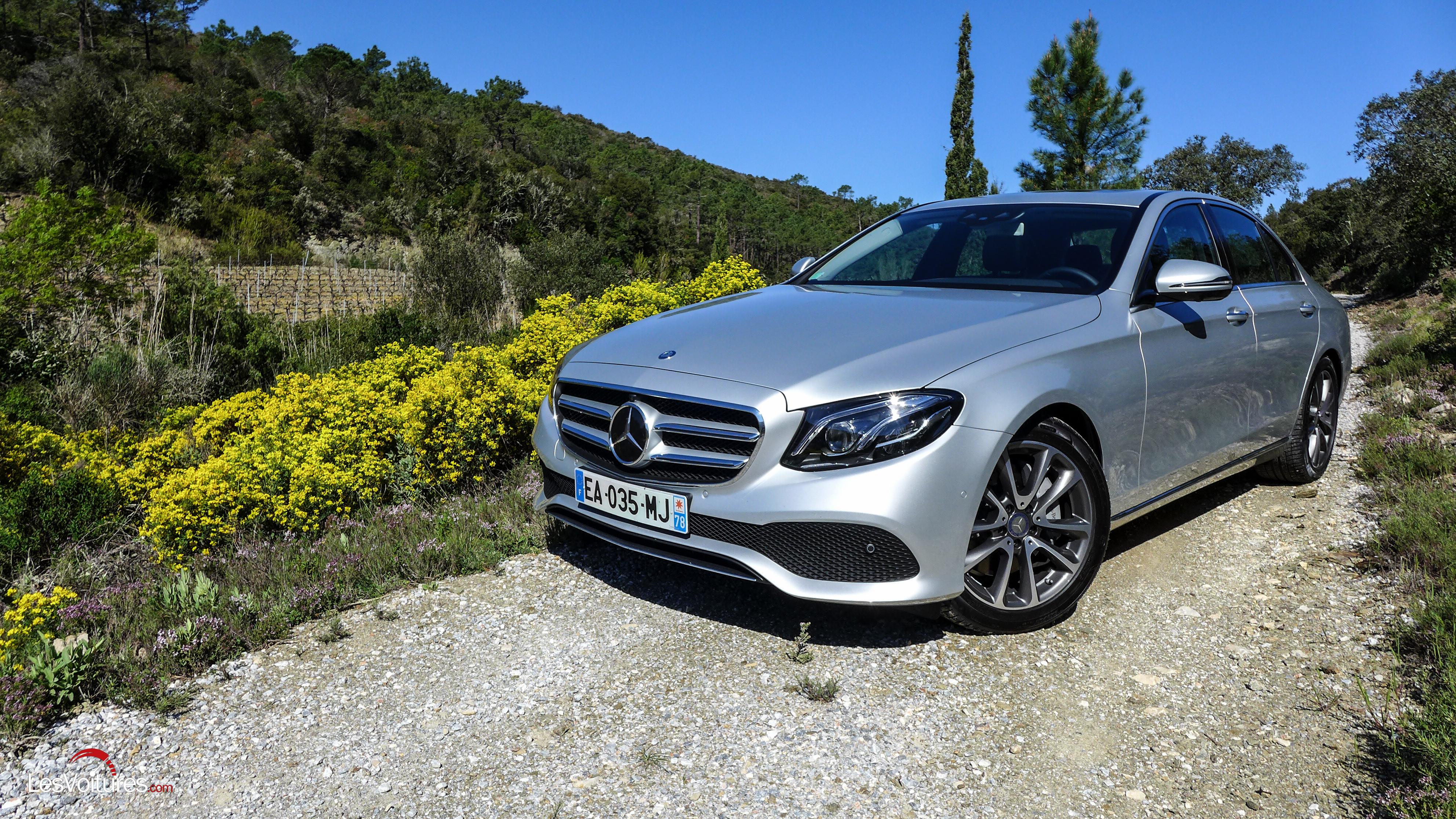 Mercedes benz classe e l embl matique berline au rendez for La mercedes benz