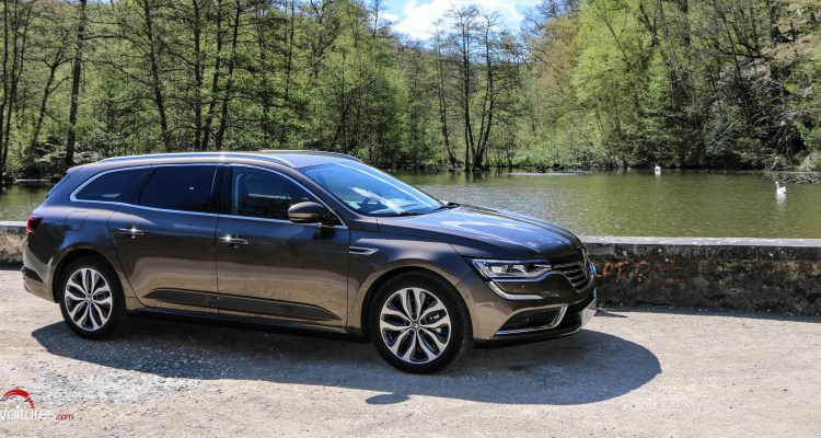 renault talisman estate le statutaire break made in france essai les voitures. Black Bedroom Furniture Sets. Home Design Ideas