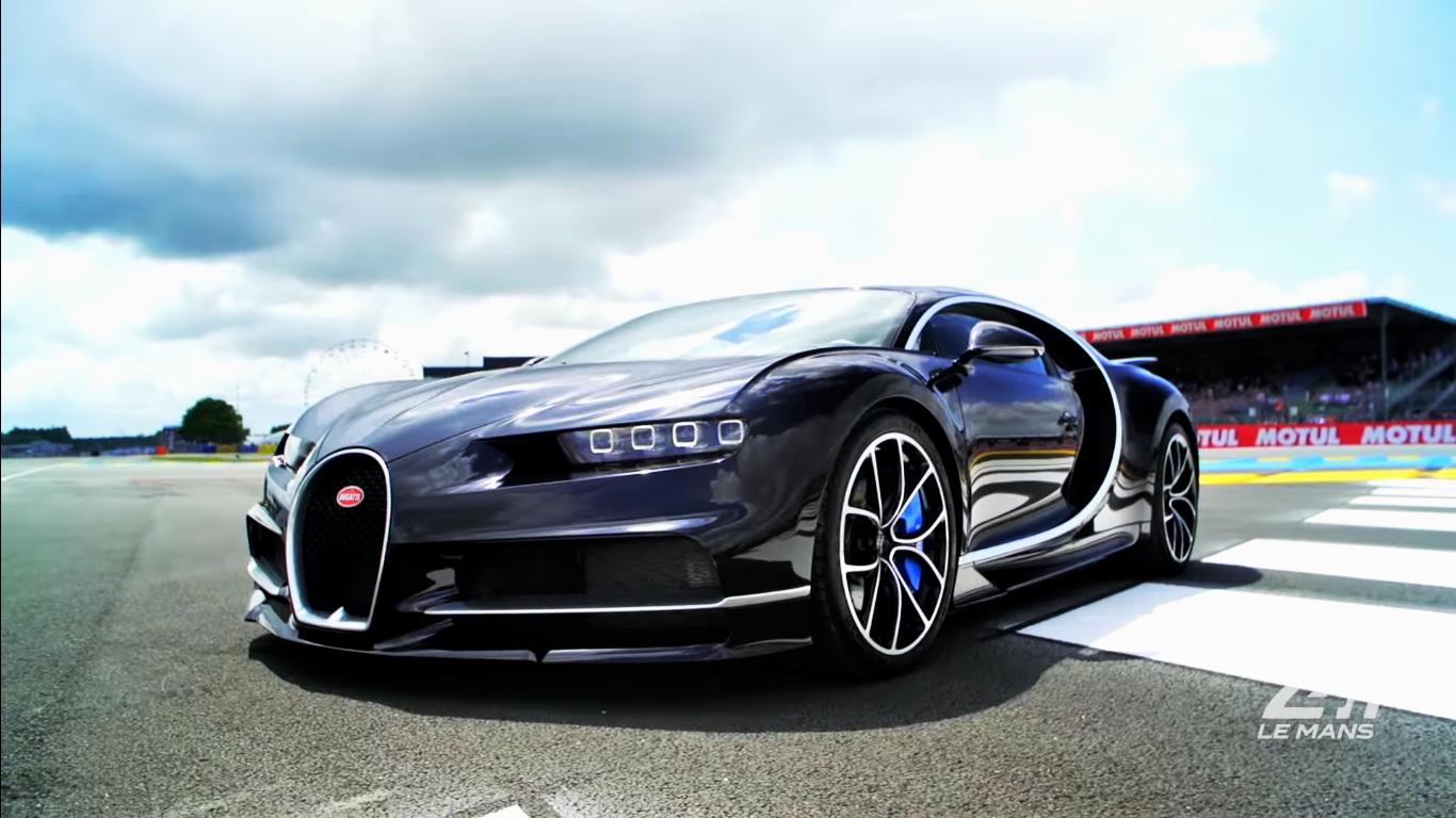 Vidéo : la Bugatti Chiron prend 380 km/h sur la piste des 24 Heures du Mans ! | Les Voitures