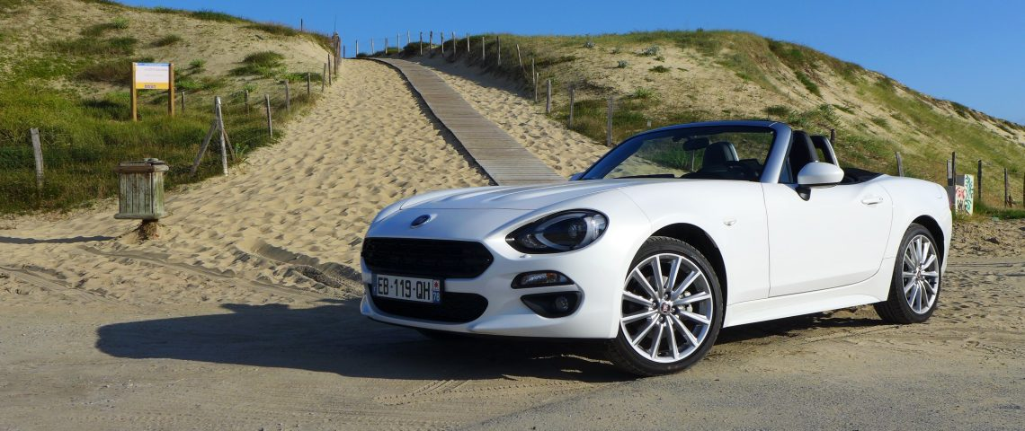 fiat 124 spider le roadster italo am ricain l essai les voitures. Black Bedroom Furniture Sets. Home Design Ideas