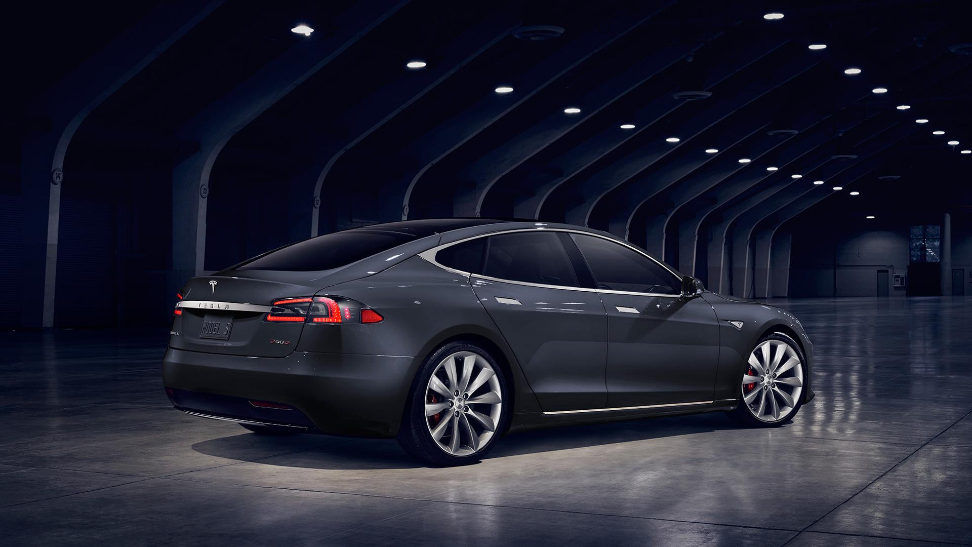 2016 Tesla Model S P 100d 3 Les Voitures