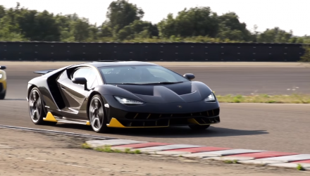 Lamborghini-centenario-video-launch