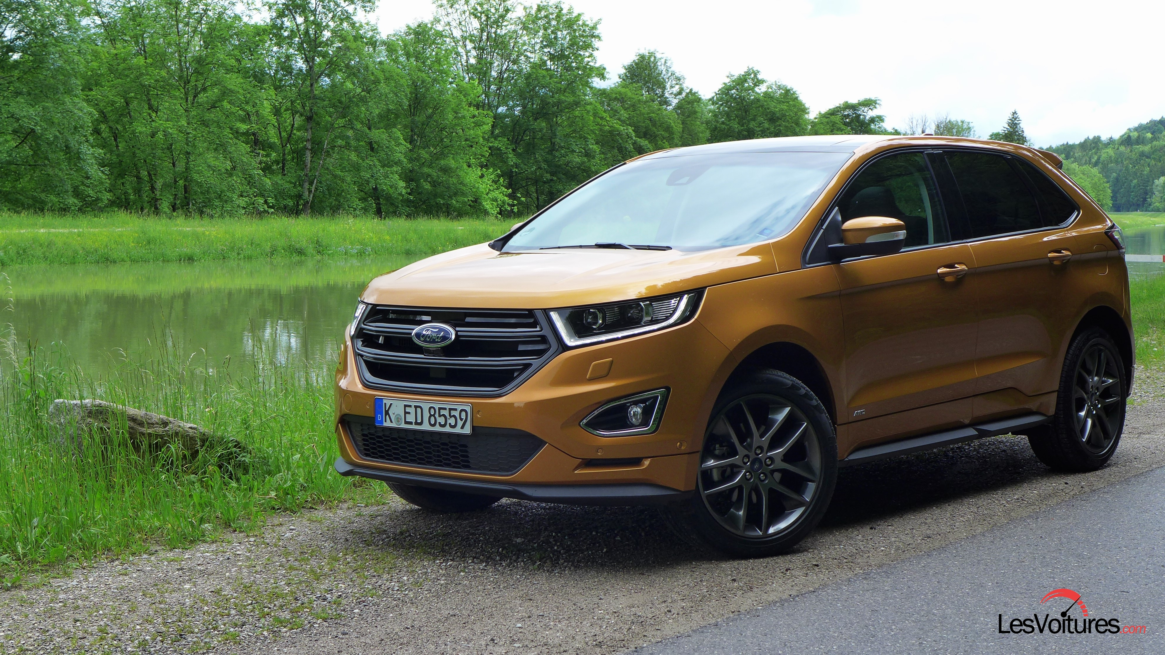 essai ford edge suv test drive 2016 6 les voitures. Black Bedroom Furniture Sets. Home Design Ideas