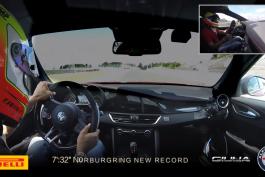video-recird-nurburgring-alfa-romeo-giulia-quadrifoglio