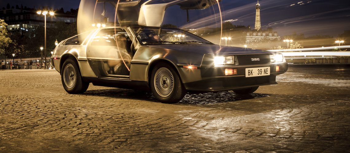 Delorean_Shooting