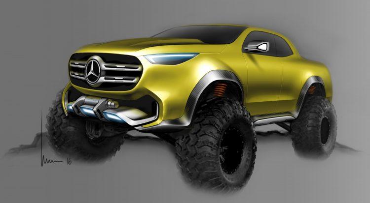 Mercedes-Benz Concept X-CLASS ; Mercedes-Benz Concept X-CLASS;