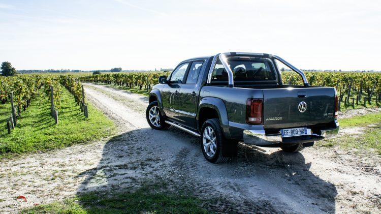 volkswagen amarok le pick up loisir passe au premium essai les voitures. Black Bedroom Furniture Sets. Home Design Ideas