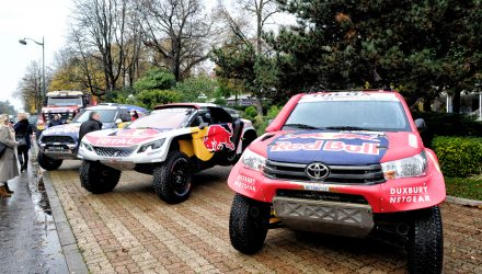 Dakar 2017 – Conference de presse – 23/11/2016 – Ambiance cars during the 2017 Dakar press conference on november 23 2016, at Pavillon d'Armenonville, Paris, France - Photo Jean-Marie Hervio/DPPI