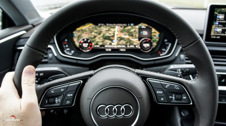 virtuel cockpit Audi A5 coupé