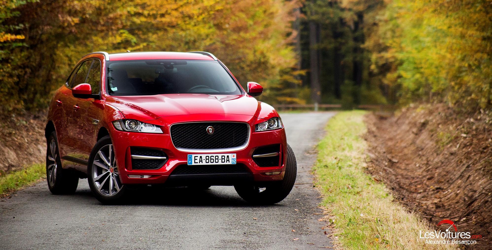 jaguar f pace le suv au pedigree britannique l essai les voitures. Black Bedroom Furniture Sets. Home Design Ideas