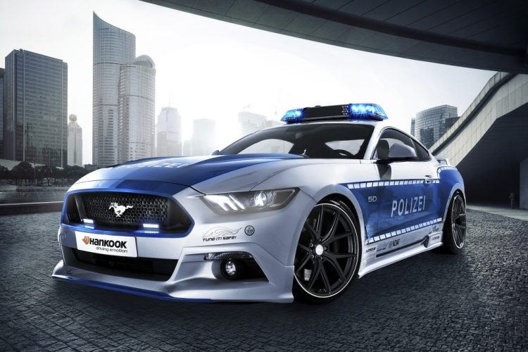 police-allemande-ford-mustang-2016-2