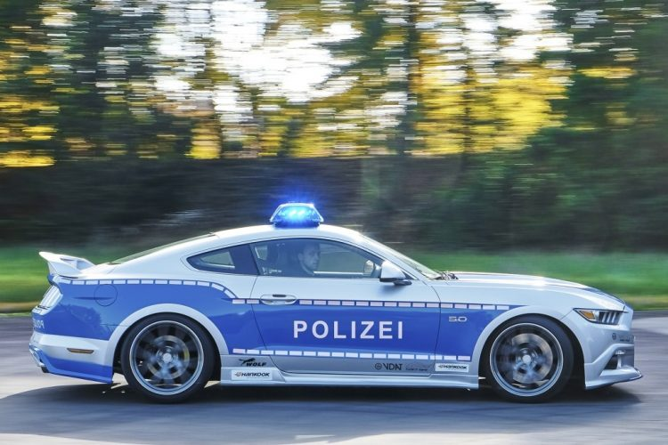police-allemande-ford-mustang-2016