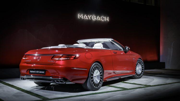 Exklusive Premiere des Mercedes-Maybach S 650 Cabriolets am Vorabend der LAAS 2016:Exclusive Premiere of the Mercedes-Maybach S 650 Cabriolets at the eve of the LAAS 2016 ; ;