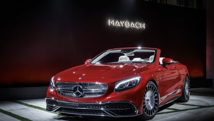 Exklusive Premiere des Mercedes-Maybach S 650 Cabriolets am Vorabend der LAAS 2016:Exclusive Premiere of the Mercedes-Maybach S 650 Cabriolets at the eve of the LAAS 2016 ;;