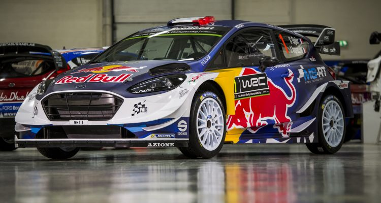 M-Sport reveal the new livery for their 2017 EcoBoost-powered Ford Fiesta which will be driven by four-time World Rally Champion Sebastien Ogier.