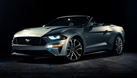 Today, covers come off the new Ford Mustang convertible – America's best-selling sports car – as it kicks off a tour of more than 50 regional auto shows across the country before going on sale in North America this fall.Pre-Production Model Shown