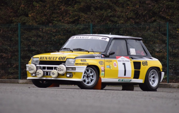 Renault 5-Turbo-Groupe 4-Jean-Ragnotti-artcurial-retromobile