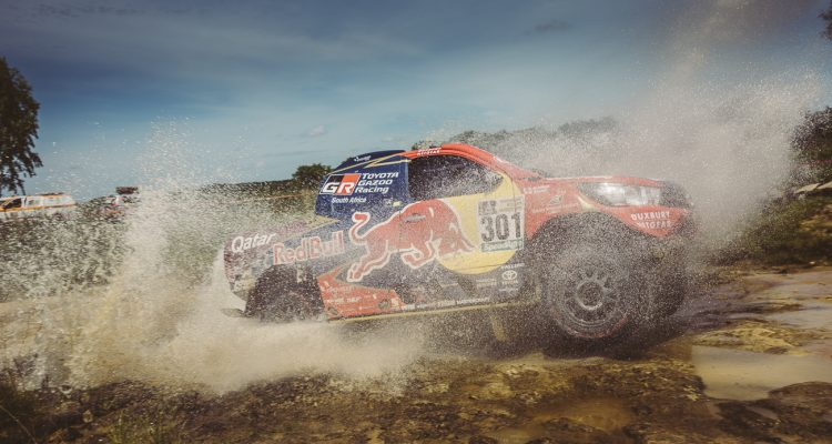 Nasser Al Attiyah (QAT) of Toyota Gazoo Racing SA races during stage 1 of Rally Dakar 2017 from Asuncion, Paraguay to Resistencia, Argentina on January 2, 2017.