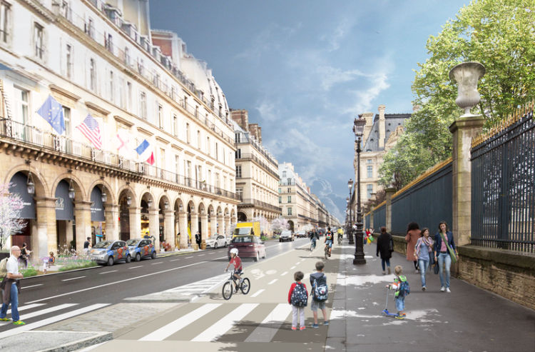 paris-rivoli-piste-cyclable